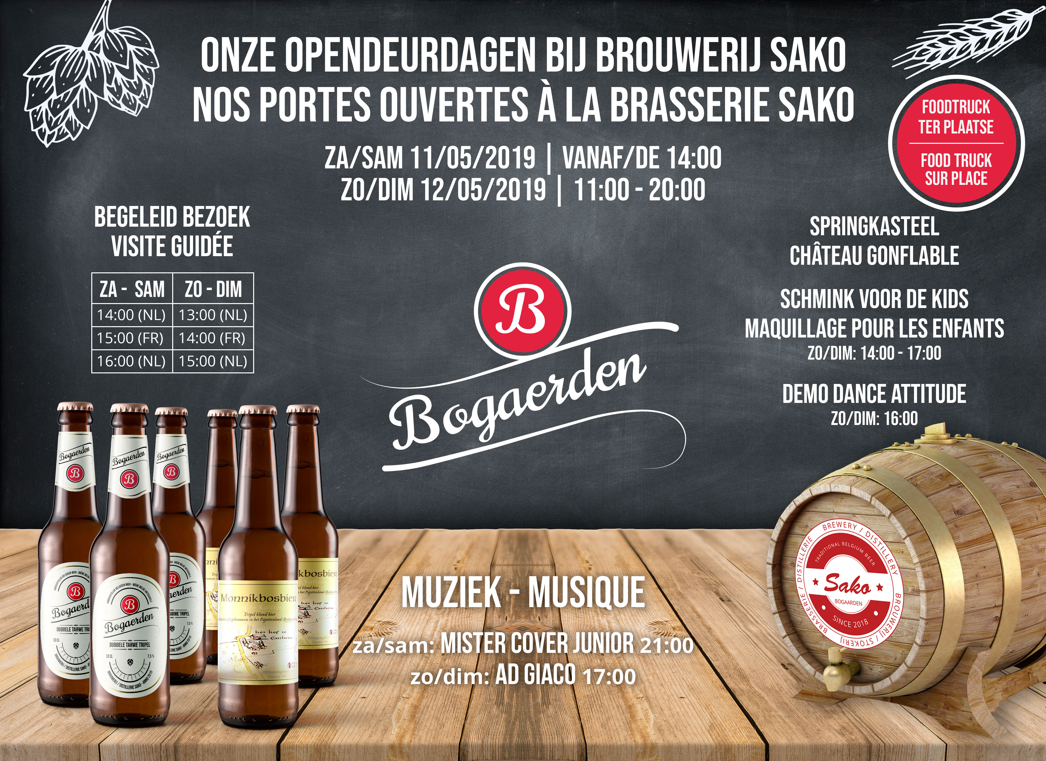 Open days at the Sako Brewery