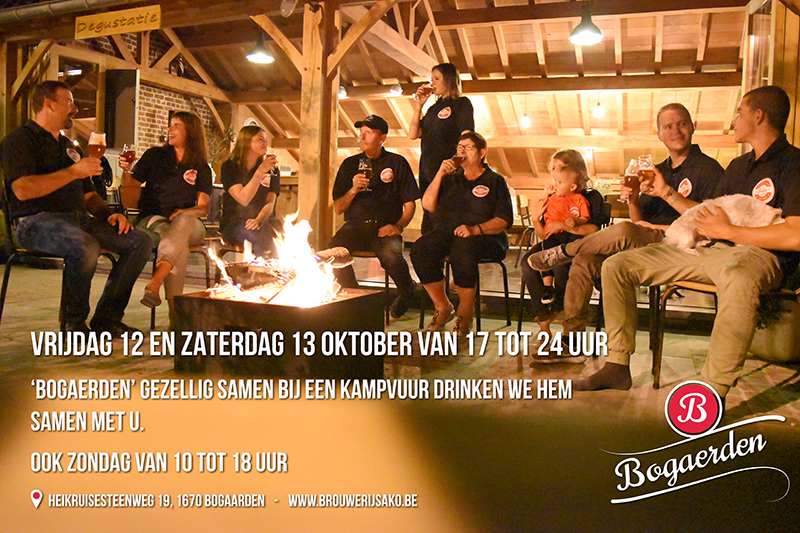 Kennismaking week-end Bogaerden dubbel tarwe tripel